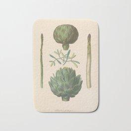Asparagus and Artichoke Bath Mat