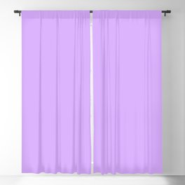 Spring - Pastel - Easter Purple Solid Color Blackout Curtain
