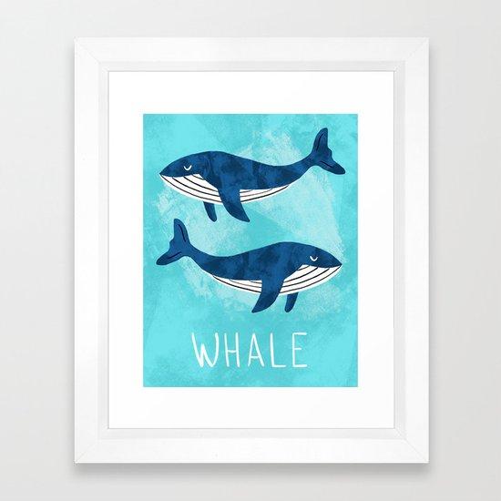 Modern nursery whales by tarareed
