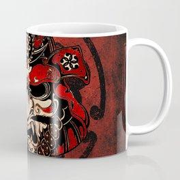 Samurai Mask, Budo, Bushido, Coffee Mug