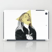 blondie iPad Cases featuring Smiling Blondie by Coco Dávez