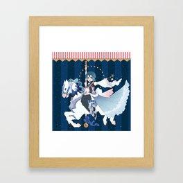 Carousel: Rainfell Framed Art Print
