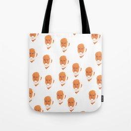 Minimalistic Freud Tote Bag