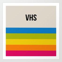 VHS Retro Box Art Print