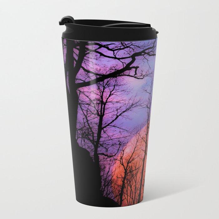 Moonrise Canyon Metal Travel Mug