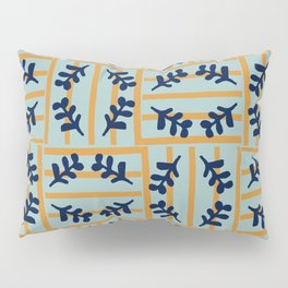 Flowers in a striped world #579 Pillow Sham