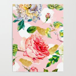 Blooming in spring Poster