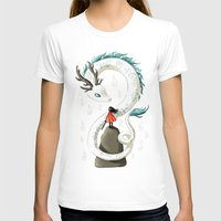 chihiro T-shirts featuring Dragon Spirit by Freeminds