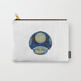 Starry Night Shroomy Carry-All Pouch