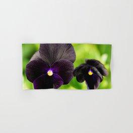Sorbet Black Delight Viola Hand & Bath Towel