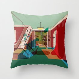 Room For Rent Throw Pillow