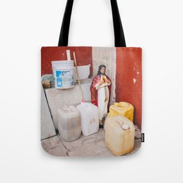 Mexican Jesus Tote Bag