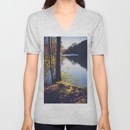 Solitude Lake Unisex V-Neck