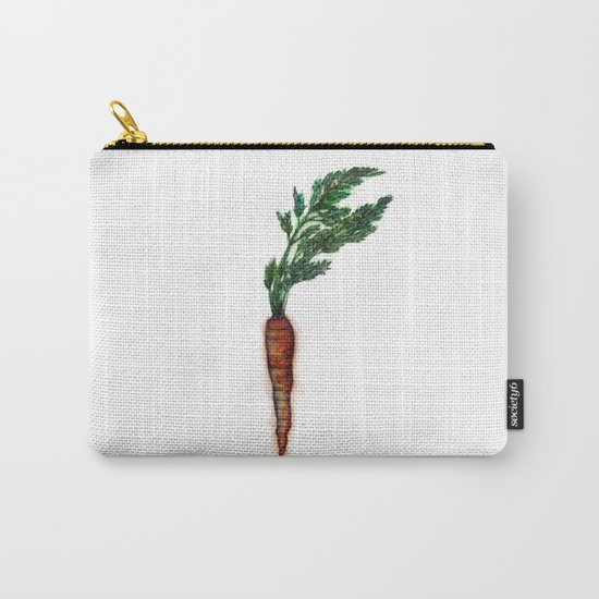 Rooted: The Carrot Carry-All Pouch