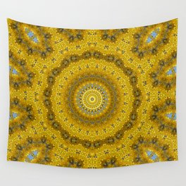 Gelbe Forsithien in Gross Wall Tapestry