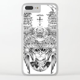 The Professor of the Cosmos Clear iPhone Case