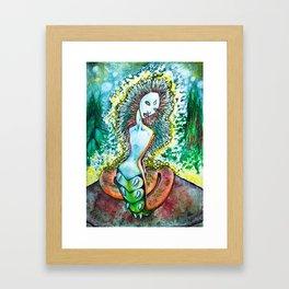 Caterpillar Framed Art Print