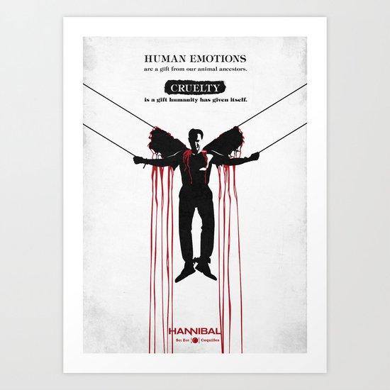 Hannibal - Coquilles Art Print