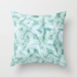 Knotty Abstract Throw Pillow