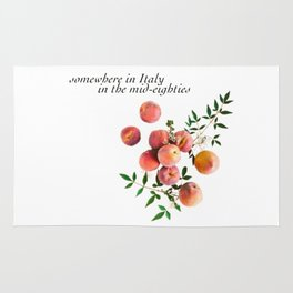 Call Me By Your Name - Inscription Rug