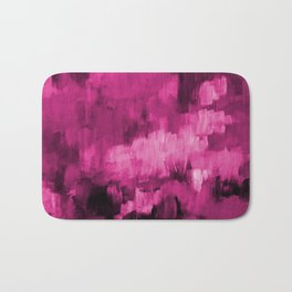 Paint 4 abstract minimal modern art painting canvas affordable art passion pink urban decor Bath Mat