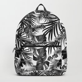 Tropical Jungle Leaves Pattern #10 (2020 Edition) #tropical #decor #art #society6 Backpack