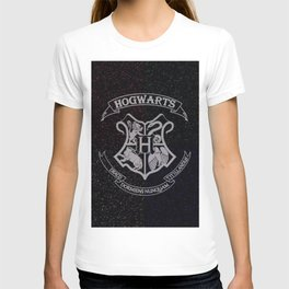 Cosmic Hogwarts Crest HP T-shirt