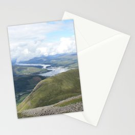 A Scottish panorama from Ben Nevis Stationery Cards