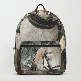 Christmas Horses Backpack