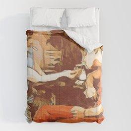 Pas Fumer Comforters