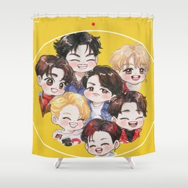 GOT7 Eyes On You Shower Curtain