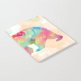 Abstract Bear Notebook