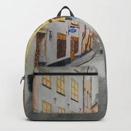 streets of stockholm Backpack
