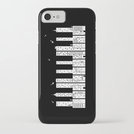 Piano Skyline iPhone Case