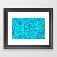 #MoleskineDaily_48 Framed Art Print