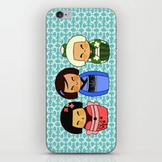 kokeshis (Japanese dolls) iPhone & iPod Skin
