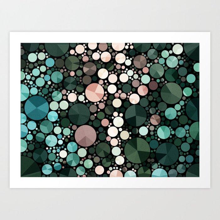 Under the sea - abstract Kunstdrucke