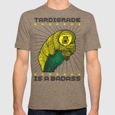 Tardigrade Tri-Coffee LARGE Mens Fitted Tee