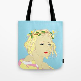 A Honeysuckle Beauty Bride Tote Bag