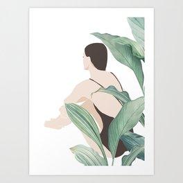 Girl 6 Art Print