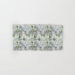 green_pattern Hand & Bath Towel