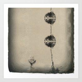 Flower #347 Art Print