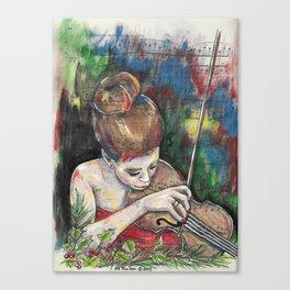 Violin 2 Canvas Print