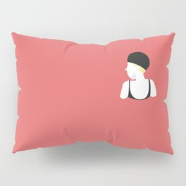 Swim in the red wine Pillow Sham