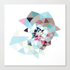 Datadoodle Shark Canvas Print