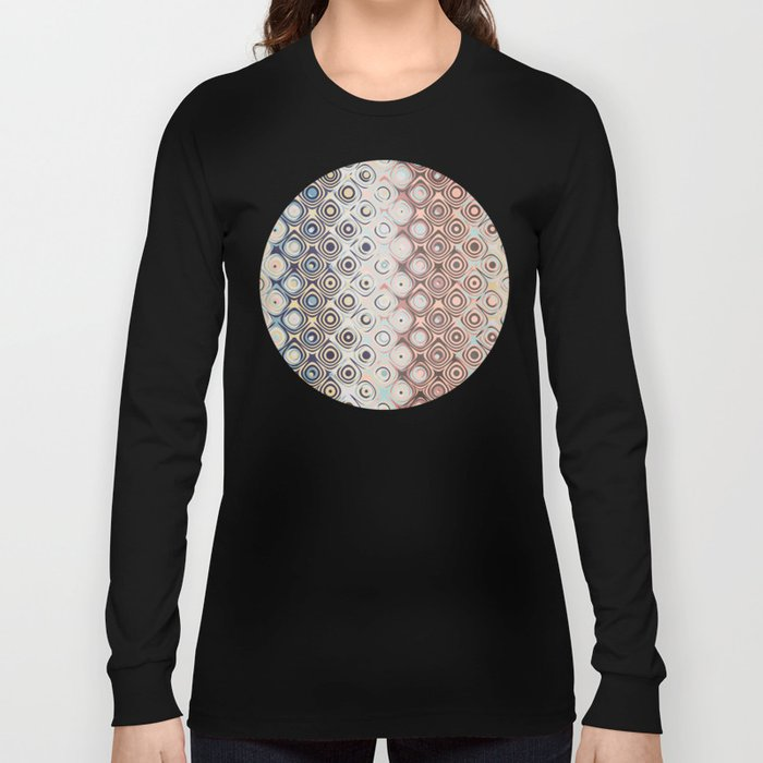 Round Retro Rings Long Sleeve T-shirt