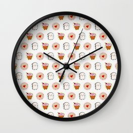 Kawaii Afternoon Tea Wall Clock