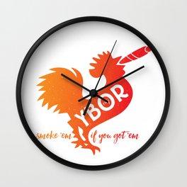 Ybor City | smoke 'em if you got 'em Wall Clock