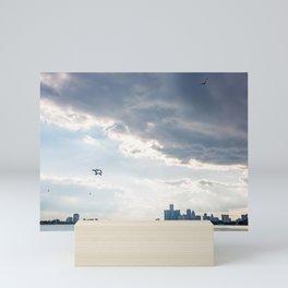 Detroit State of Mind Mini Art Print