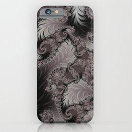 Folding Feathers - Fractal Art  iPhone Case